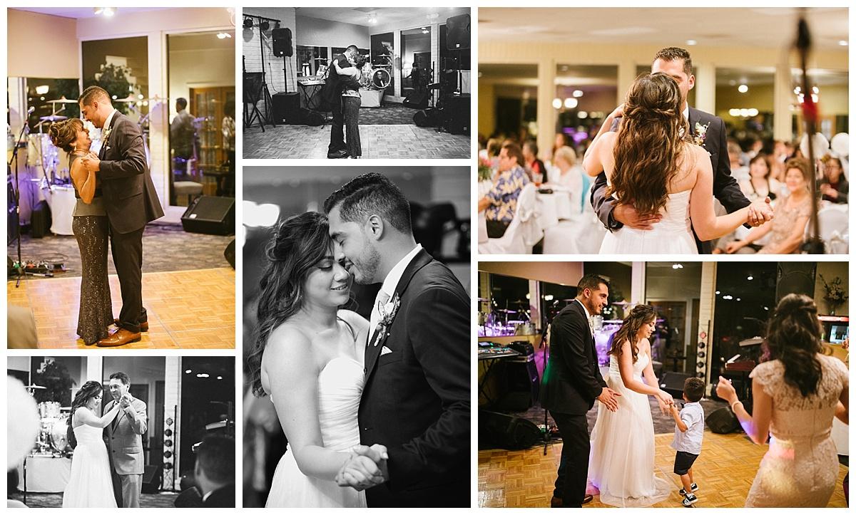 el paso wedding, vista hills country club, father daughter dance