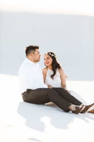 el paso engagement session, white sands engagement session