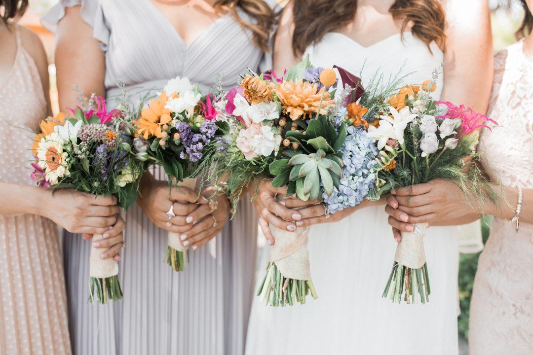 el paso wedding bouquet
