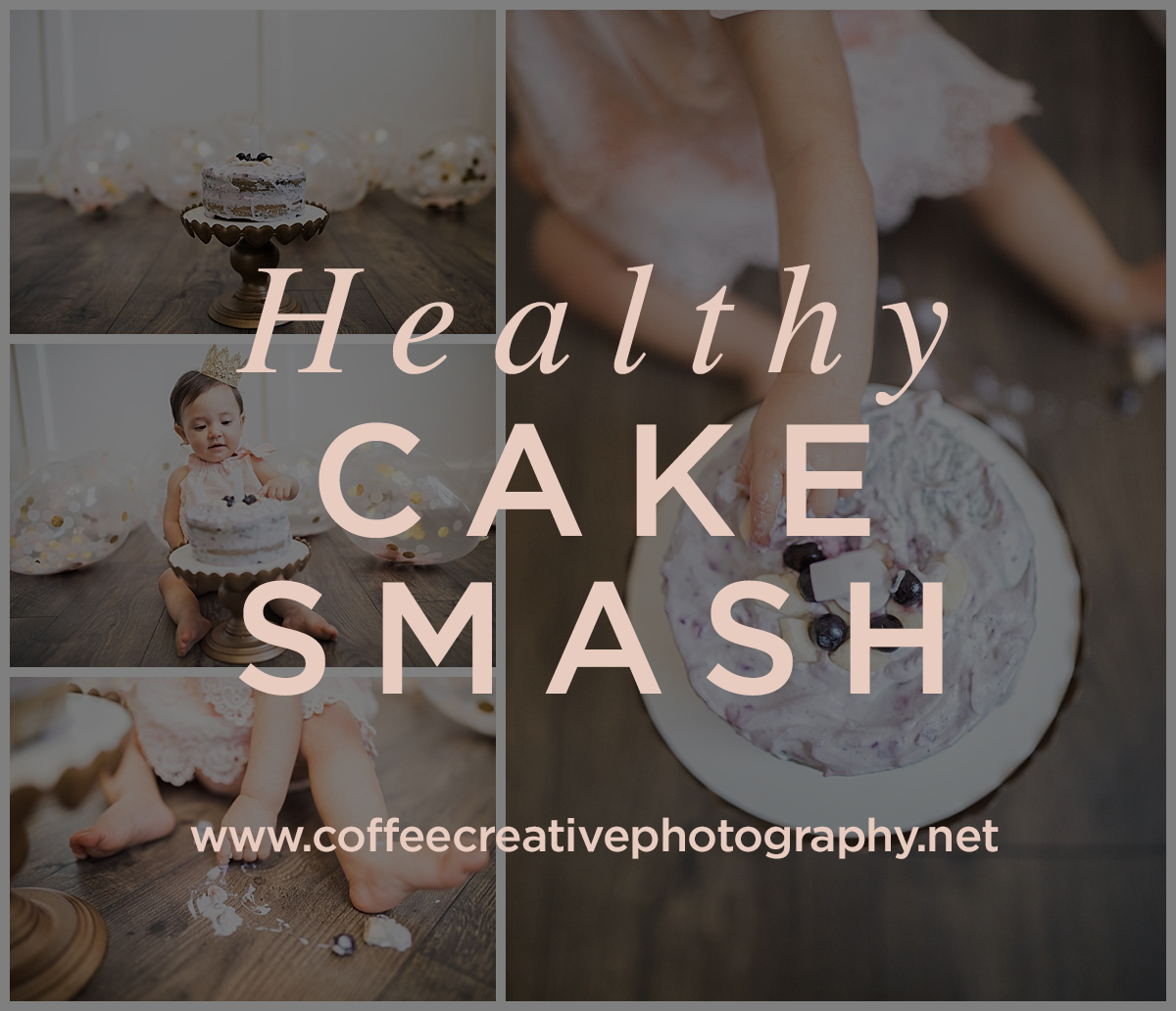 healthy cake smash session in el paso