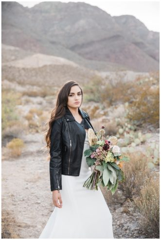 bohemian desert bridal shoot