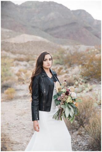 bohemian desert bridal shoot