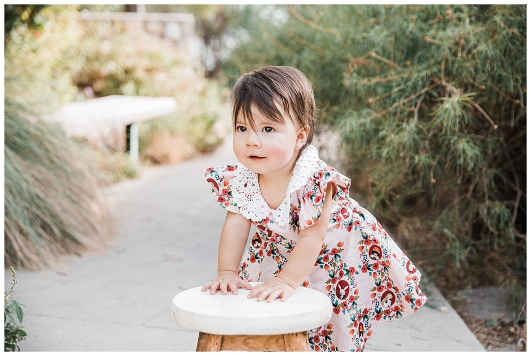 el paso family photography, el paso cake smash, birthday girl cake smash