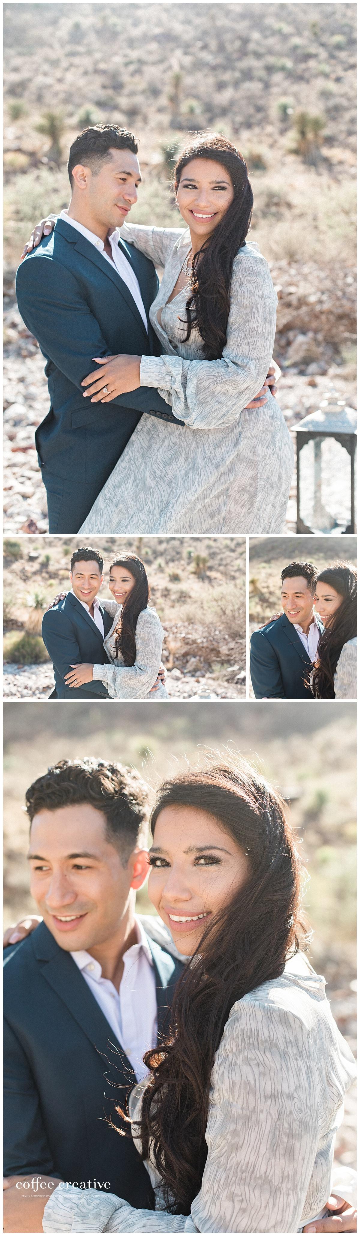 Romantic Engagement Session in El Paso