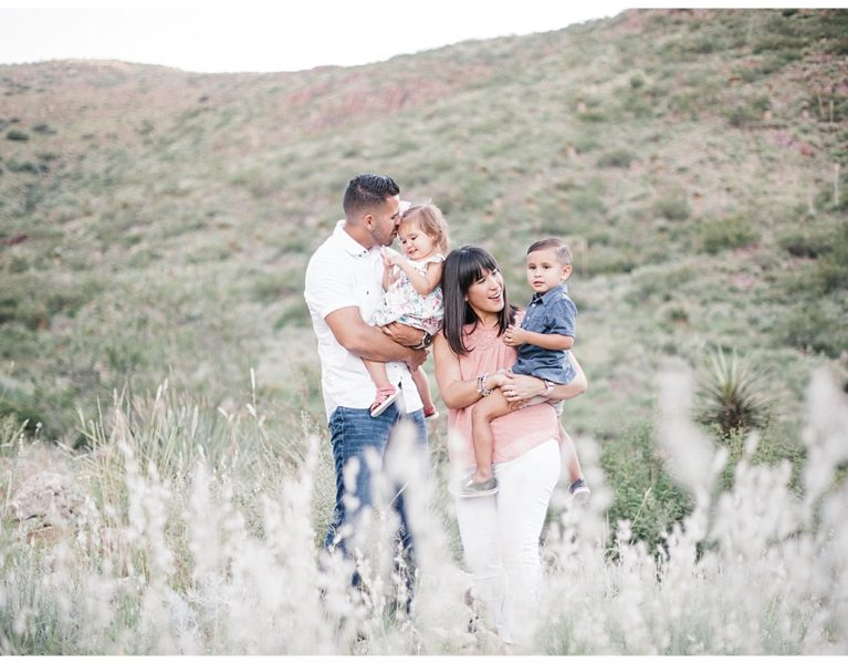 Desert Mountains Family Session in El Paso, Texas