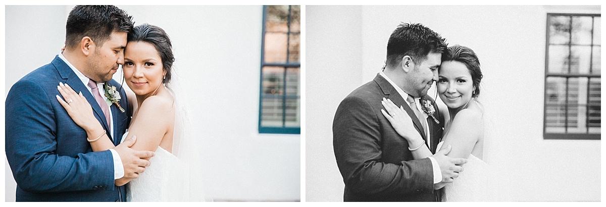 el paso simple rustic white wedding at los portales