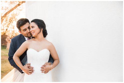 Simple Rustic White Wedding at Los Portales Venue