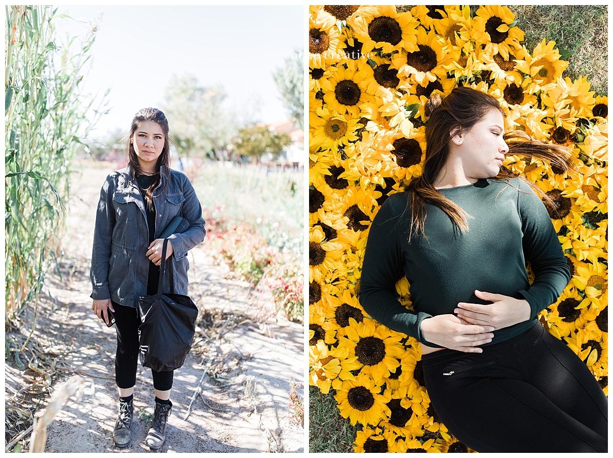 El Paso Fall Mini Photography Sessions | Calhoun Flower Farms