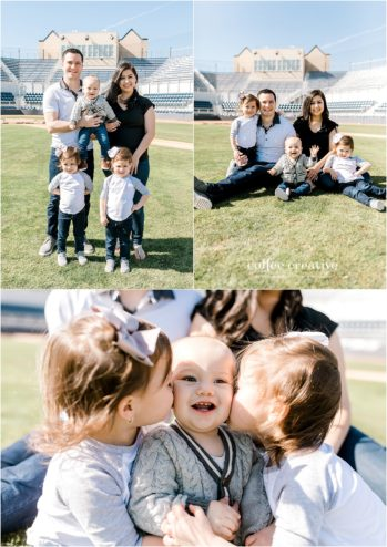 One Year Baseball Birthday Photography Session, El Paso Photographer