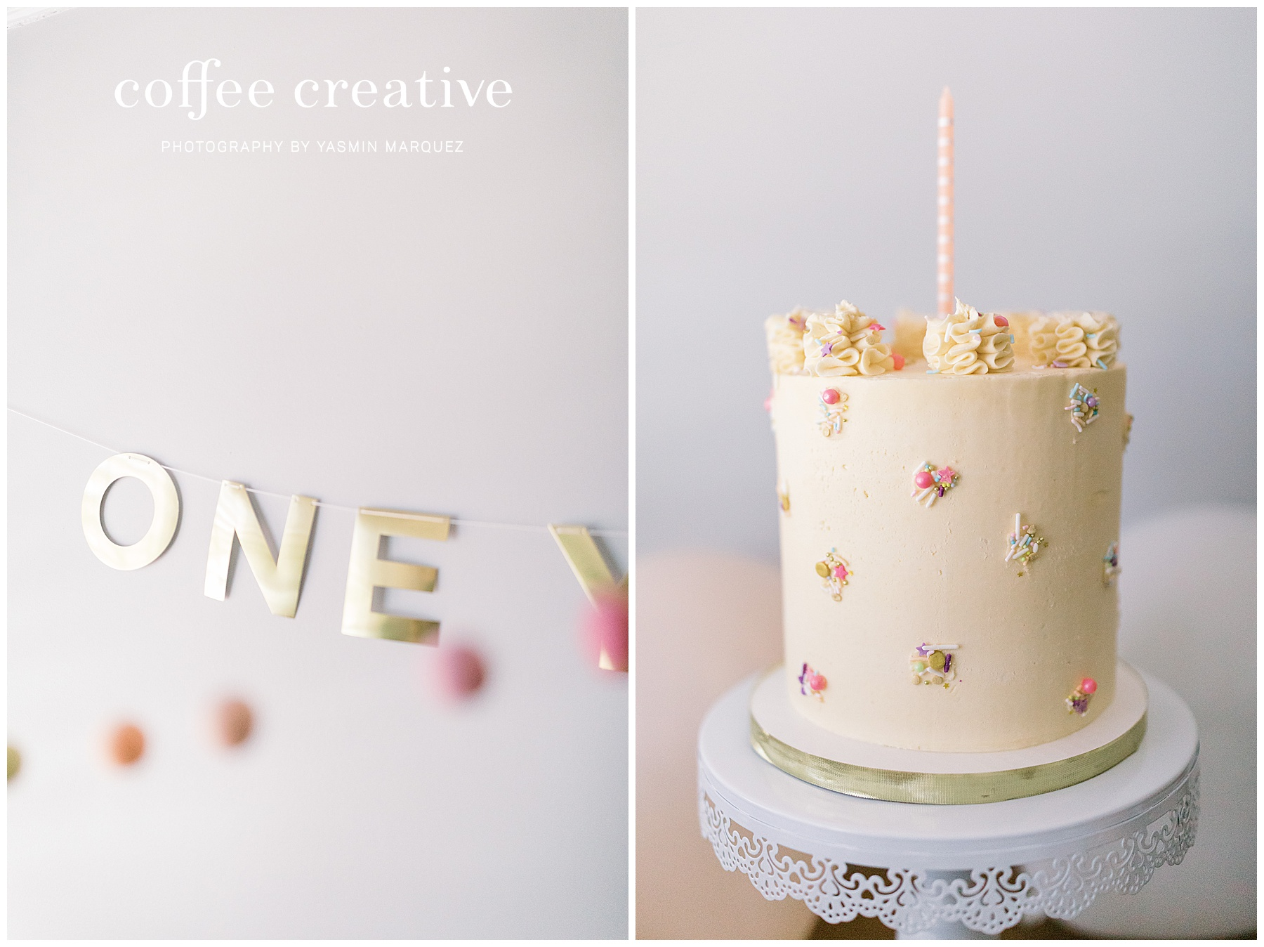 MODERN PASTEL SPRING CAKE SMASH, El paso photographer, el paso cake smash photographer, quarantine birthday party decor, inspired by this, 100 layer cakelet