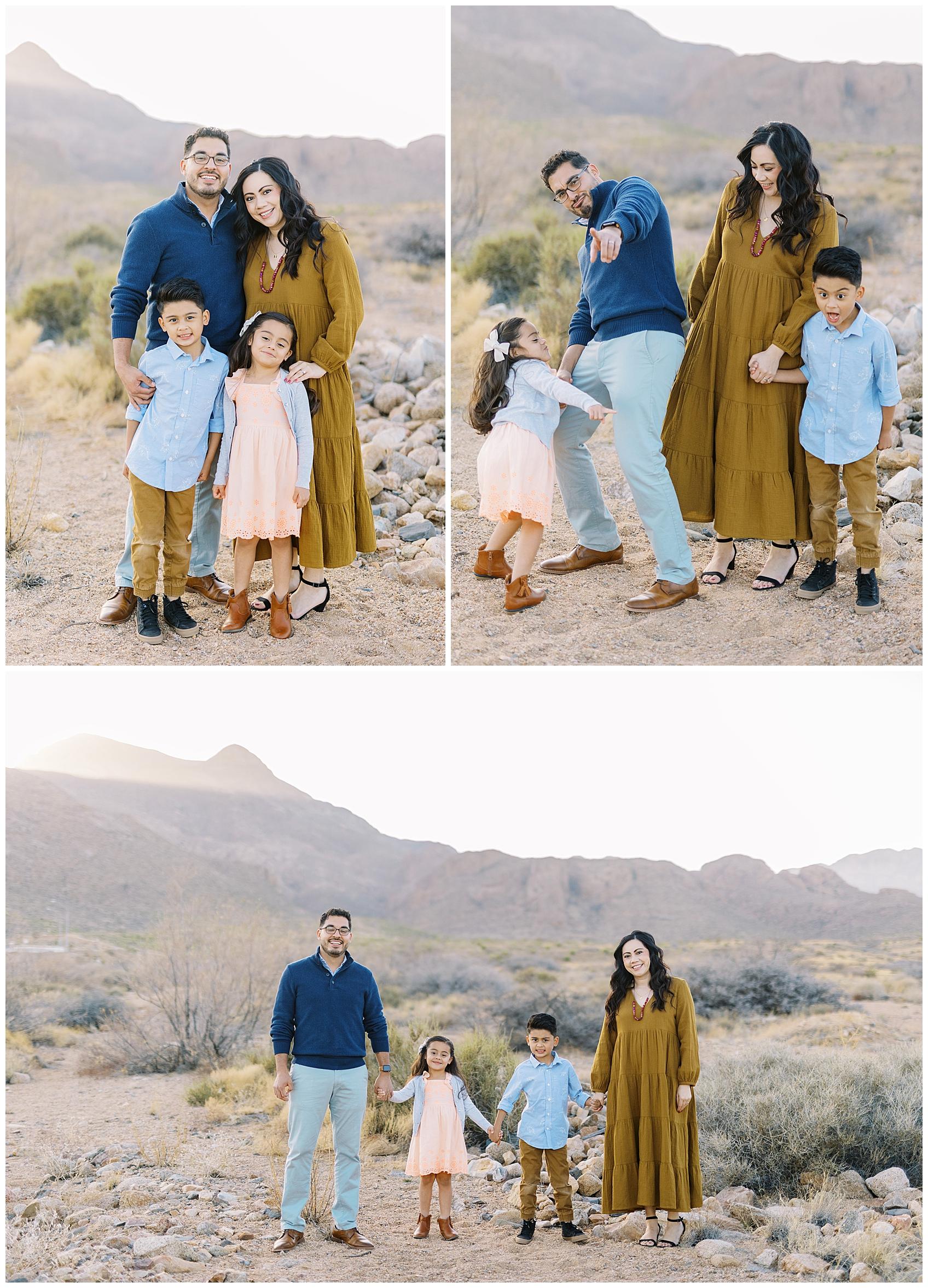 El Paso Desert Extended Family Session, el paso photography, el paso mountains, el paso desert session,
