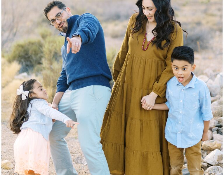 el paso desert extended family session, el paso photography